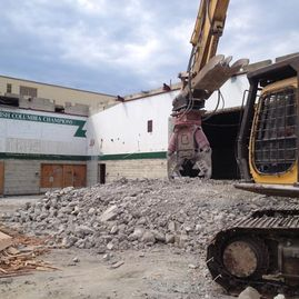 Oak Bay High School demolition